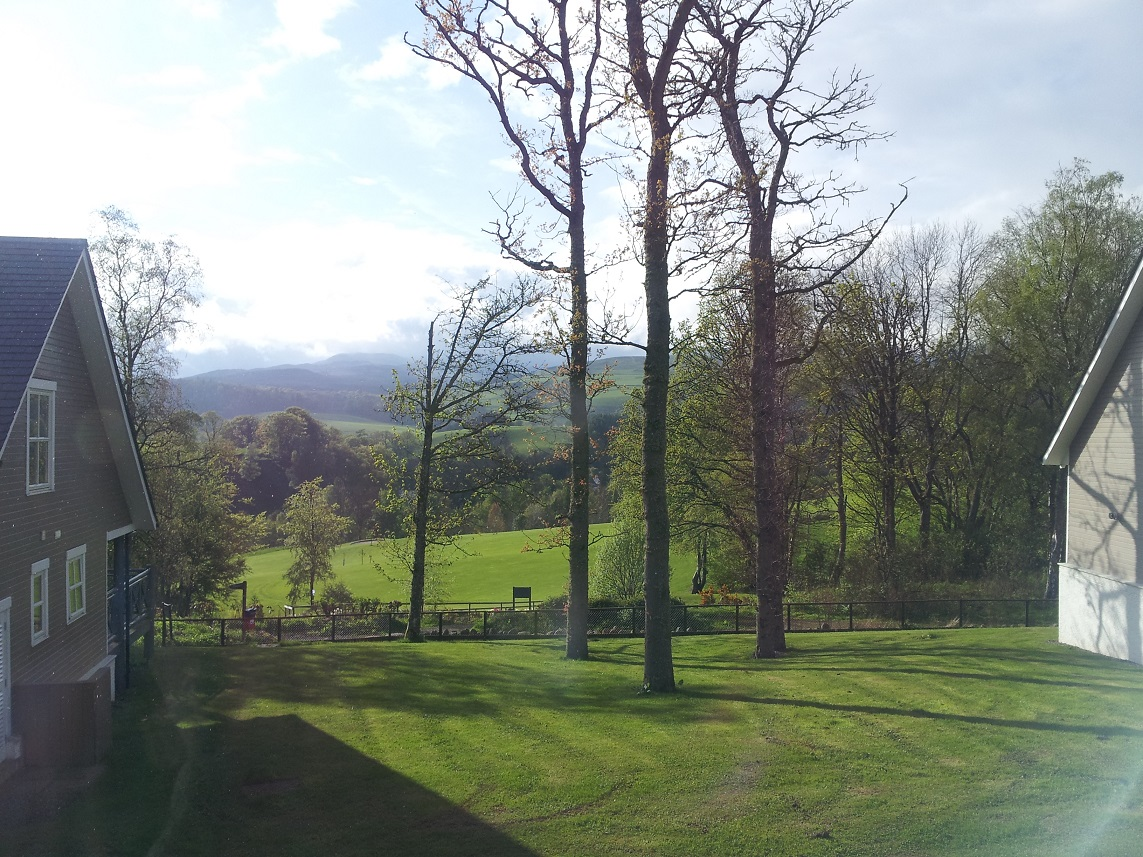Crieff Hydro - view from lodge